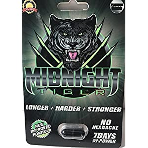 Midnight Tiger, Unleash your Beast, All Natural, No Headache, Blows away Rhino