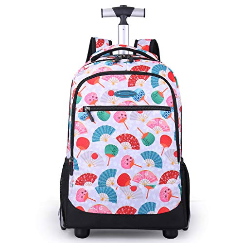 Rolling Backpack For Kids, Trolley Bags For Kids School Travel Laptop Books Multifunction Wheeled Backpack Luggage, F(DHL ship 4-10 days ()