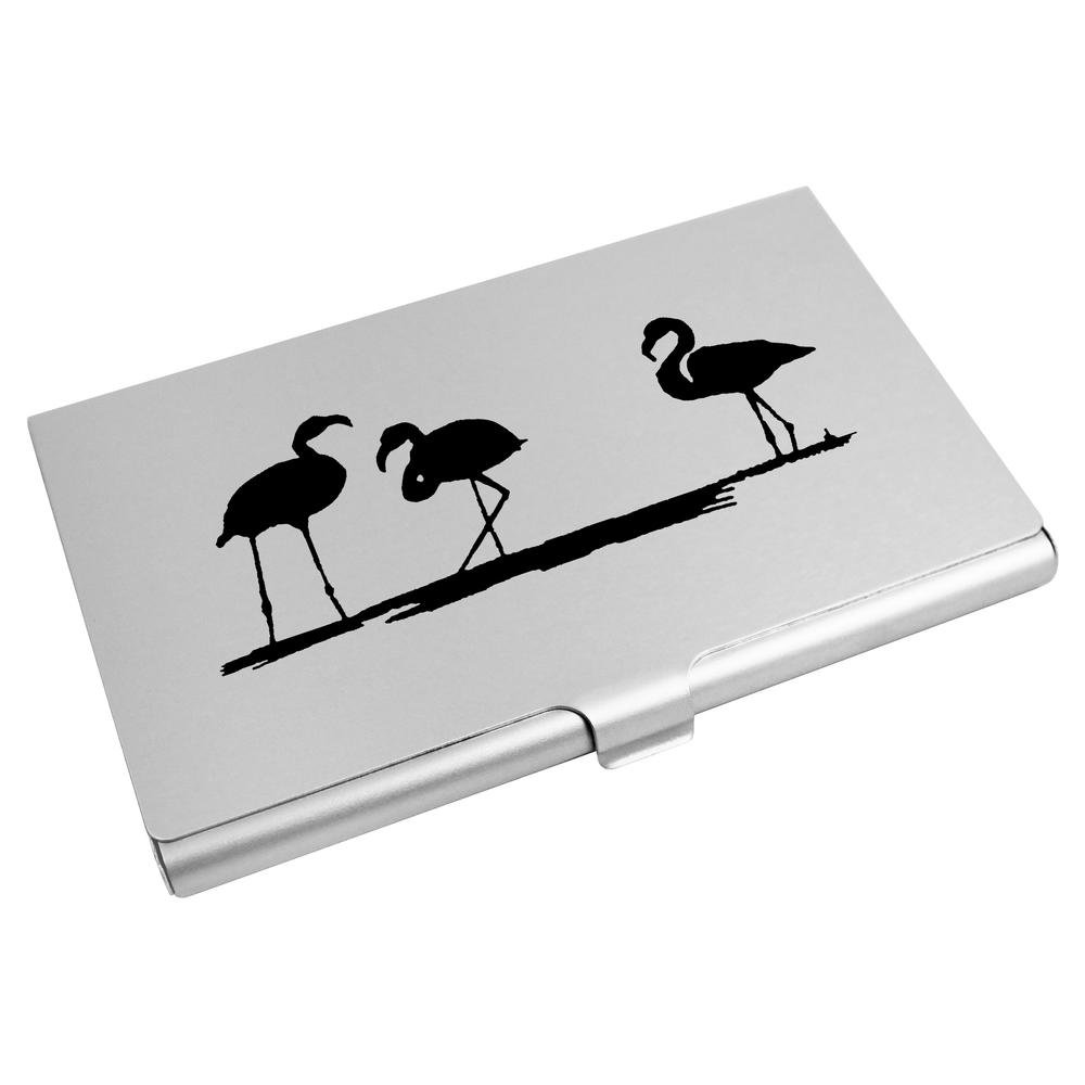 Azeeda Flamingos Visitenkartenhalter Kreditkarte