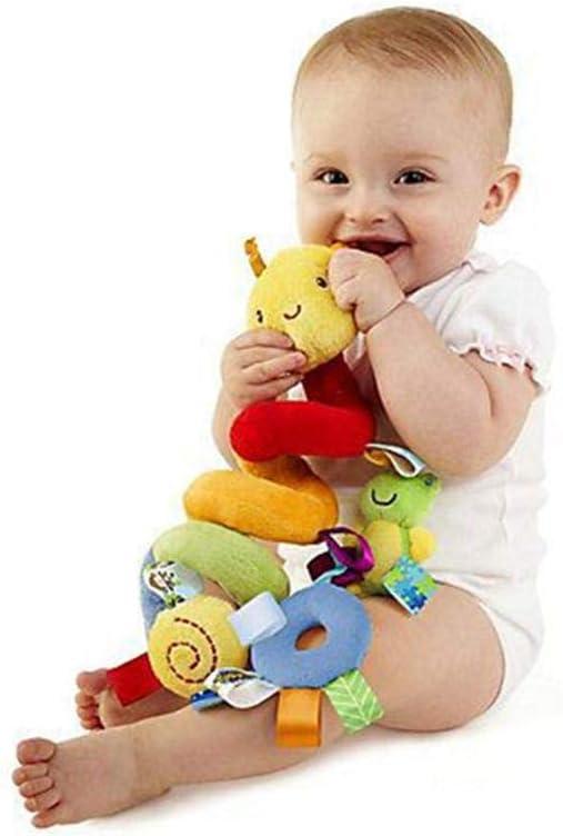 Enveloppement en Spirale Autour du Lit de B/éb/é FOONEE Baby Activity Poussette et Jouet de Voyage. Jouets /à Suspendre pour Enfants Spiral Activity