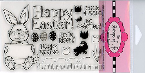 rd-Making and Scrapbooking by The Stamps of Life - Bunny4Easter and Sentiments ()