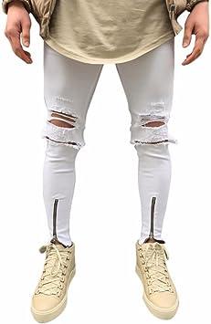 Vaqueros De Motociclista Rotos Para Hombre Vaqueros Pitillo Blancos 2019 Buy Pantalones Vaqueros De Mezclilla Para Hombre Pantalones Vaqueros De