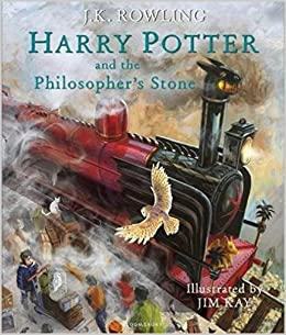 Bildresultat för harry potter and the philosopher's stone illustrated edition