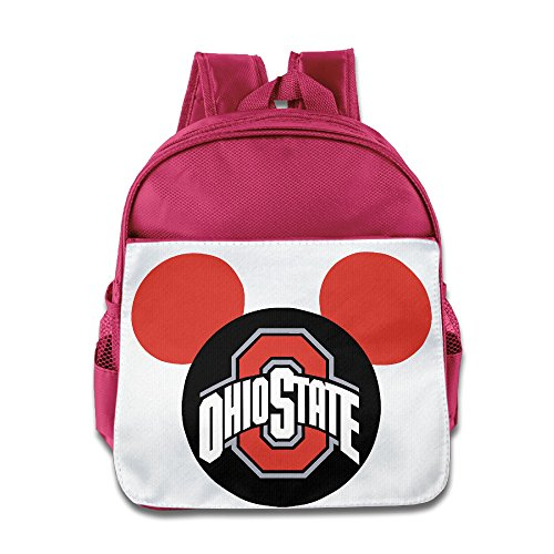 HYRONE Ohio State Buckeyes Football Kids Children School Bag Backpack For 1-6 Years Old -