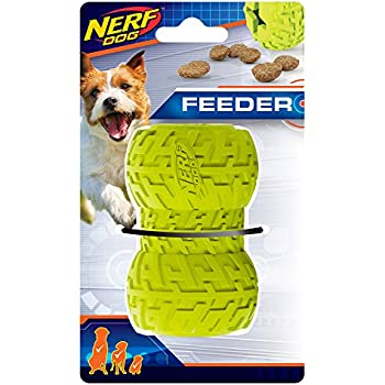 Pet Supplies : Nerf Dog (2-Pack) Tire Treat Feeder Dog Toy