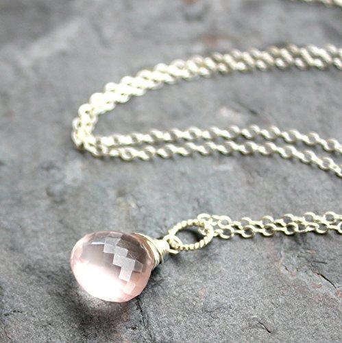 Quartz Briolette Necklace - 3