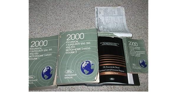 ford excursion workshop manual