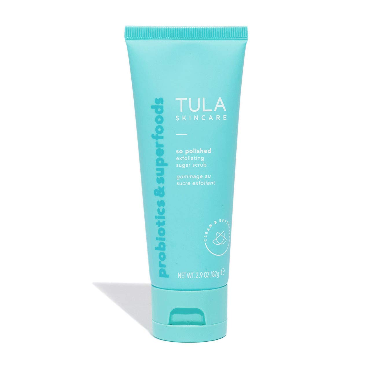 TULA Probiotic Skin Care So Polished Exfoliating Sugar Scrub | Face Scrub, Gently Exfoliates with Sugar, Papaya, and Probiotics for a Softer and Radiant-Looking Complexion | 2.9 oz. by TULA