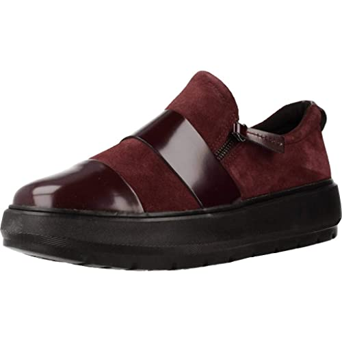 Geox D Kaula F, Sneaker Slip on Donna