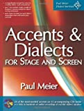 Accents & Dialects for Stage and Screen (includes 12 CDs) by Paul Meier (2012-07-30)