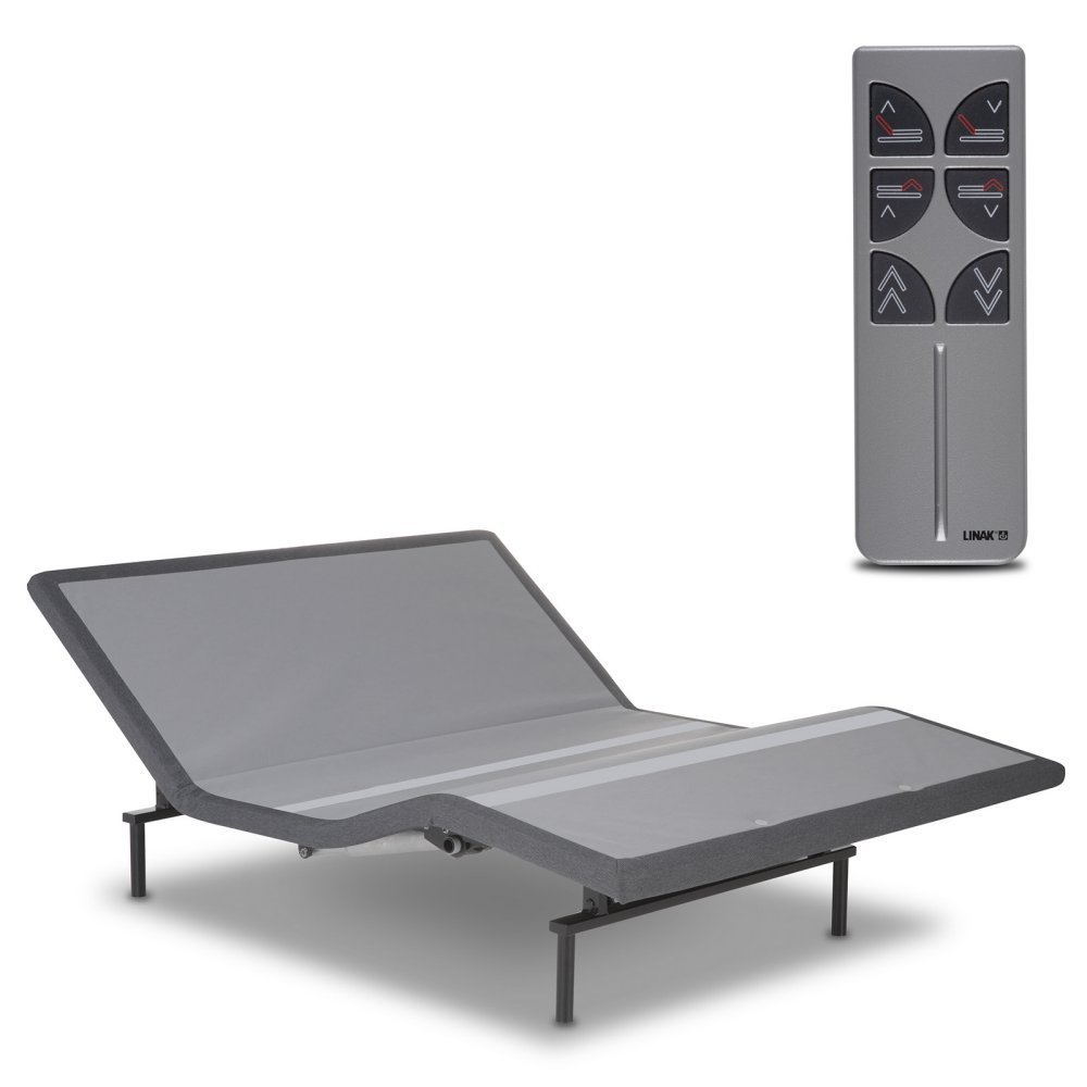 Leggett & Platt Raven Adjustable Bed Base, Wireless, Head and Foot Articulation, Queen by Leggett & Platt