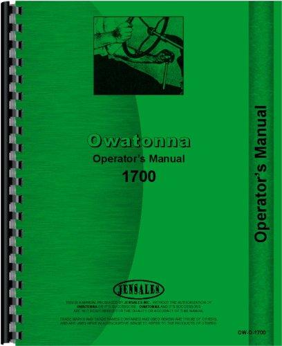 Download Owatonna 1700 Skid Steer Loader Operators Manual ebook