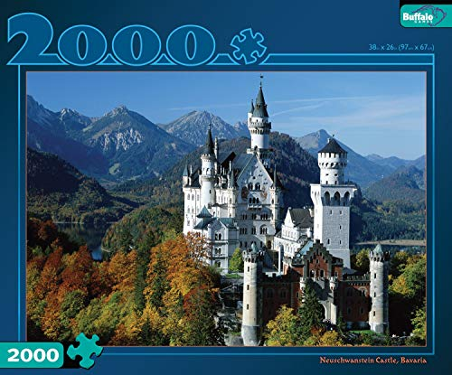 Buffalo Games 2000 Piece Neuschwanstein Castle (Renewed)
