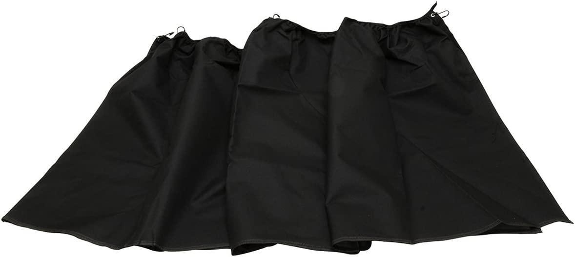 "RoadPro RPCC Black 28"" x 11' Single Privacy Cab Curtain"