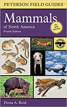 Peterson Field Guide to Mammals of North America (Peterson Field Guides (Paperback)) by Fiona Reid (2006-11-15)