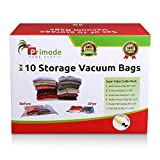 Primode 10 Count Space Saver Vacuum Storage Bags - Saves Space and Protects