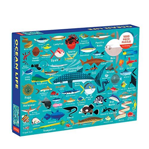 Mudpuppy Ocean Life Puzzle, 1,000 Pieces, 27