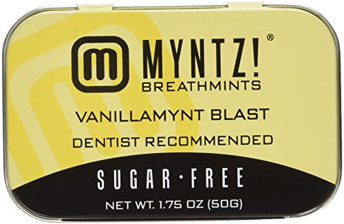 Myntz Vanilla Mynt Blast - 6 Tins 1.75 Oz Each (Pack of 6)