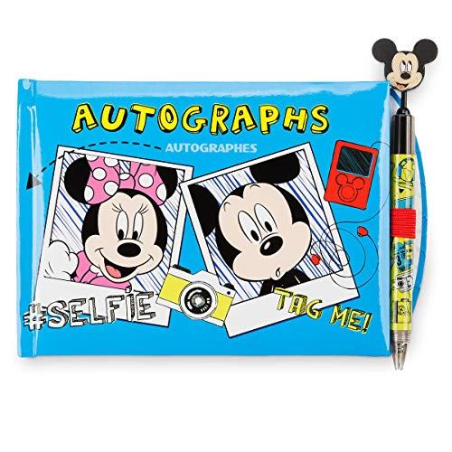 Disney Parks Walt Disney World Exclusive Official Character Autograph Book with Pen! Mickey - Autograph Disney World Books
