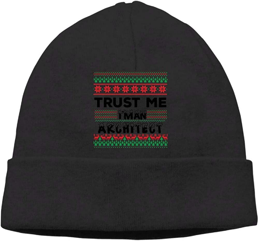 Trust Me Im an Architect 1 Beanie Hat Knit Cap for Mens