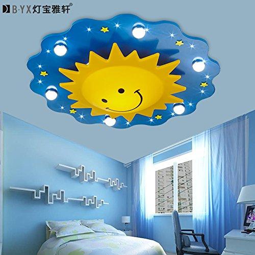 LTERD Kinder Schlafzimmer Lampe Deckenlampe mit LED-Beleuchtung ...