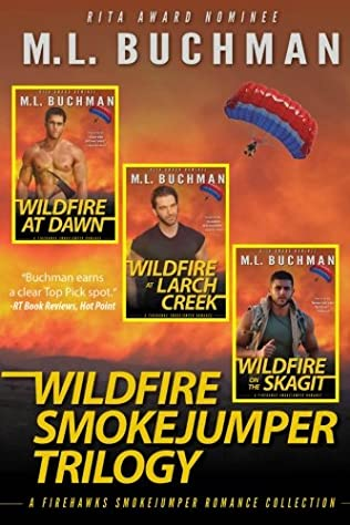 book cover of Wildfire Smokejumper Trilogy