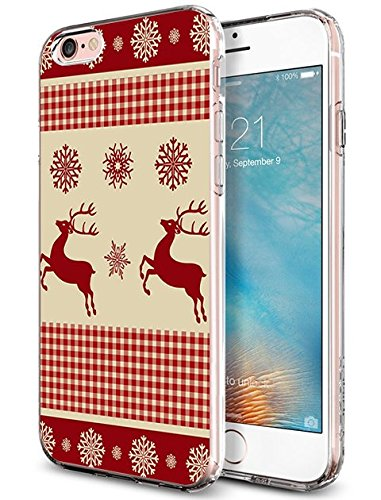 Case for iPhone 6 Plus (2014) / 6s Plus (2015) Christmas Pattern
