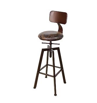 Chaise De Tabouret American En Iron Bois Bar dxWCerBo