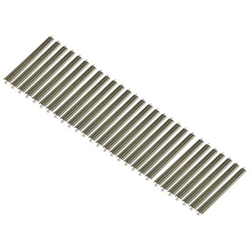 (Bachmann Industries E Z Nickel Track (25 Piece) HO Scale E Z Track, Silver, 18