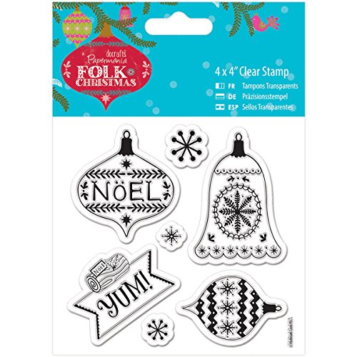 brand-new-papermania-folk-christmas-clear-stamps-4x4-yum-brand-new