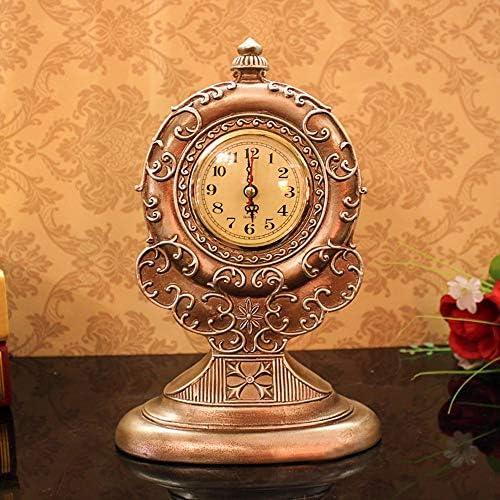 ヨーロッパのエレガントなクリエイティブ時計リビングルーム研究装飾装飾樹脂工芸芸術家のレトロクロック 作りがいい
