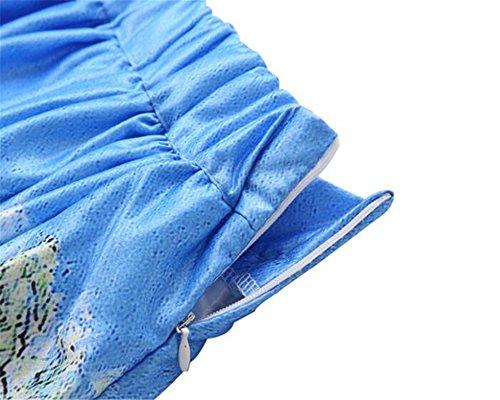 ImprimEs Multicolore Jupe Jupe Femme Skirt Jupe Line ElGant Taille Femelle Vintage Haililais Tendance Extensible A Plisse Jupe qaExgU0w