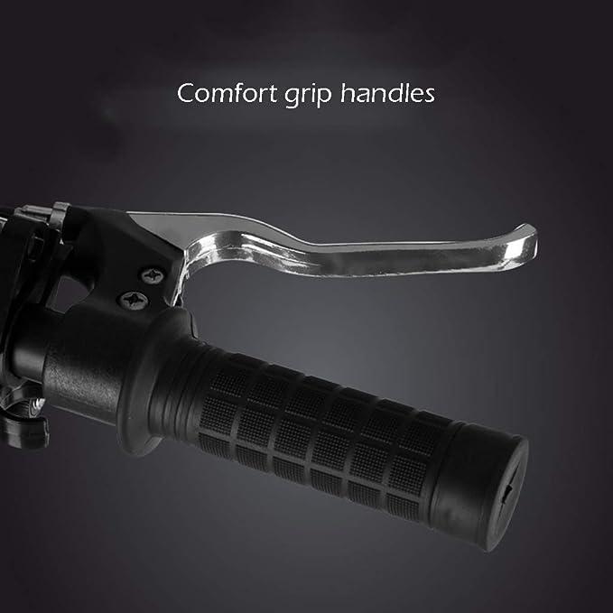 Amazon.com: ZAQ Adult Kick Scooter Handbrake Dual Suspension ...