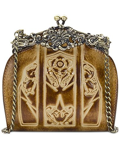 Clutch Burnished Frame Patricia Rosaria Nash Sand Tooled Gold 6x5w0q5Y
