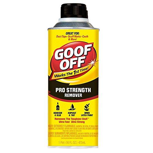 Goof Off FG654 Professional Strength Remover, 16 oz. ()