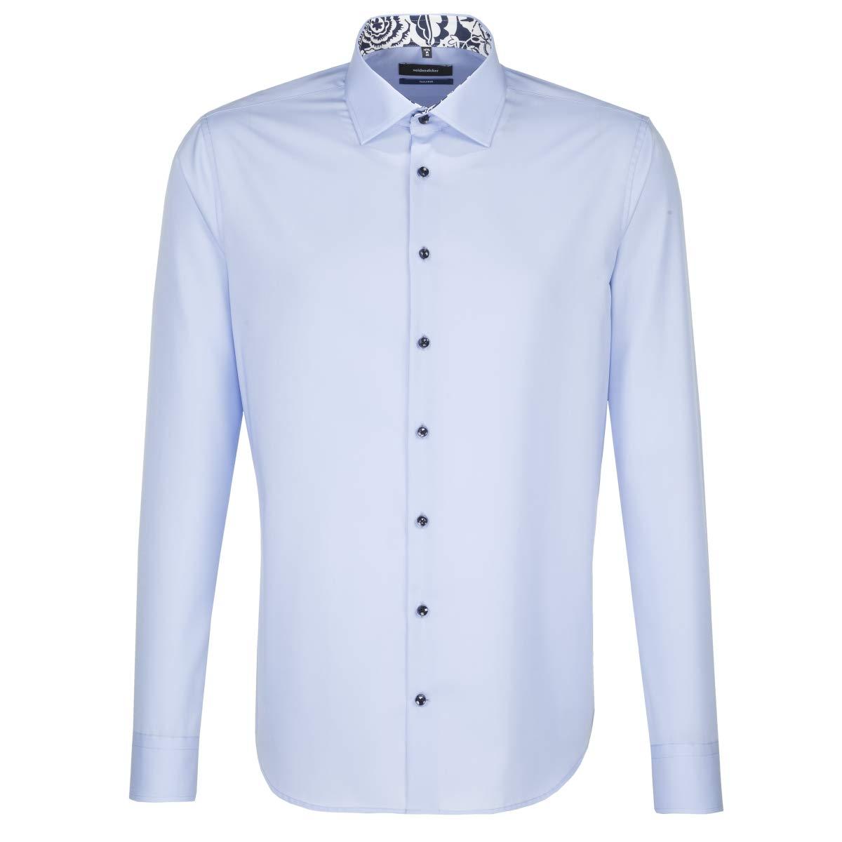 TALLA 41. Seidensticker - Camisa Formal - Liso - Clásico - para Hombre