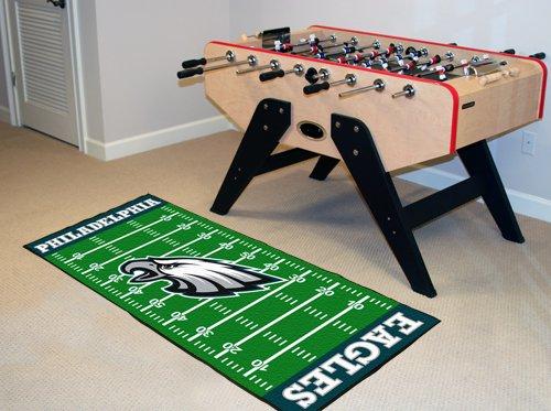 Fanmats Philadelphia Eagles Team (Philadelphia Eagles Football Runner)