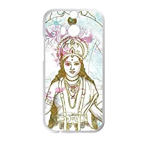 HTC One M8 Cell Phone Case White Meditation TR2423239