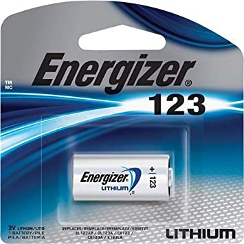 Amazoncom 13 Energizer Lithium Cr123a 3v Photo Lithium Batteries