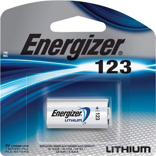 Batteries Streamlight Lithium (13 Energizer Lithium CR123A 3V Photo Lithium Batteries - In Retail Package)