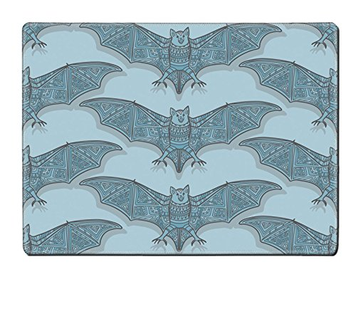 Luxlady Placemat Image ID: 44881720 Vector seamless halloween pattern with bat Modern stylish texture Repeating abstract (Halloween Bat Crochet Patterns)