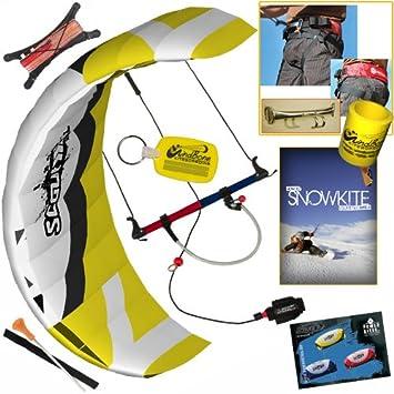 HQ Scout III 3 m el entrenador Kite arnés snowkite DVD Bundle: (6 ...