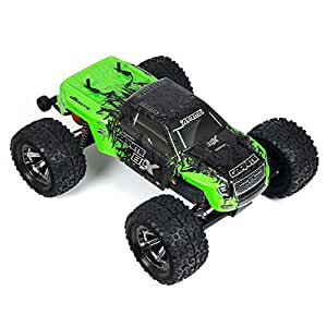 ARRMA 1:10 Scale RTR Remote Radio Control Car: GRANITE BLX 2WD Electric RC Monster Truck with 2.4GHz Radio, Servo, ESC, and Brushless Motor
