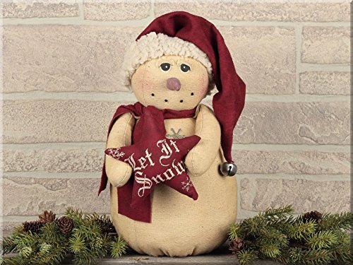 (Honey and Me Vintage Snowman with Star)
