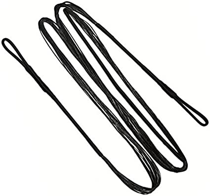 All length sizes from 44-68 Archery Black Replacement Bowstring of 12,14,16 Strands KESHES Dacron Bow String Replacement for Traditional and Recurve Bow