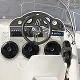 Marine Headunit Receiver Speaker Kit - In-Dash LCD