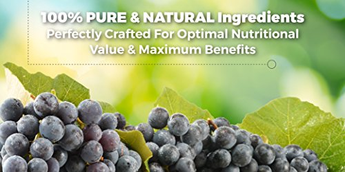 51sU5lzNrML - RESVERATROL1450-90day Supply, 1450mg per Serving of Potent Antioxidants & Trans-Resveratrol, Promotes Anti-Aging, Cardiovascular Support, Maximum Benefits