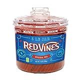 Image of Red Vines Red Original Licorice Twists (4 Pound Jar)