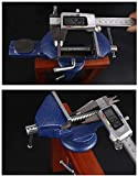 Vise Universal Rotate 360° Work Clamp-on Vise