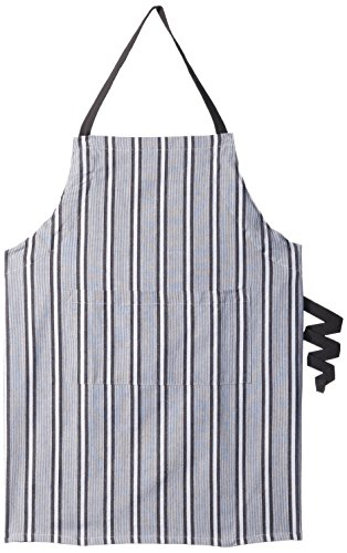 DII Professional Stripe Bib Chef Apron